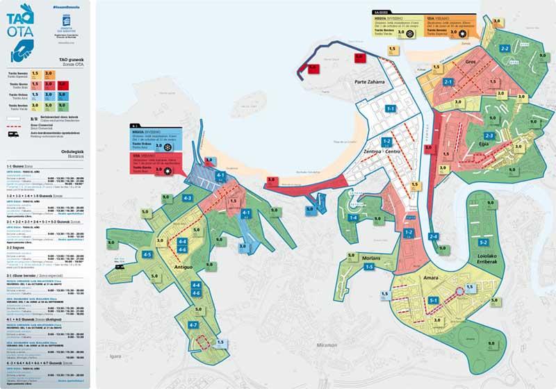 donostia-mapa-zona-azul